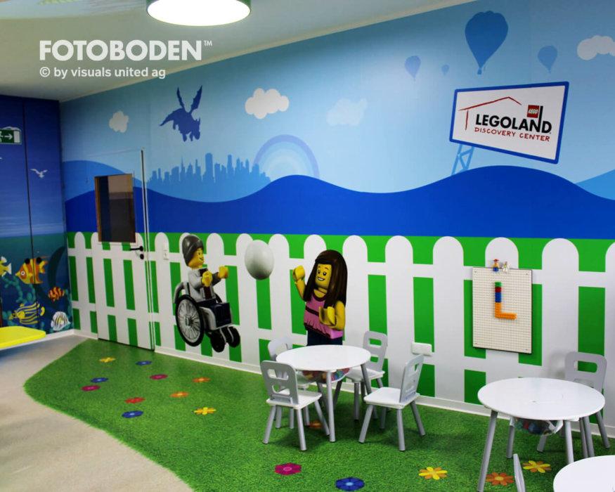 Motivboden Indoor Kinderspielplatz Fotoboden