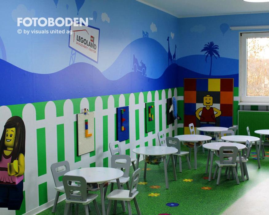 Vinylboden FOTOBODEN™ Motivboden Spielplatz