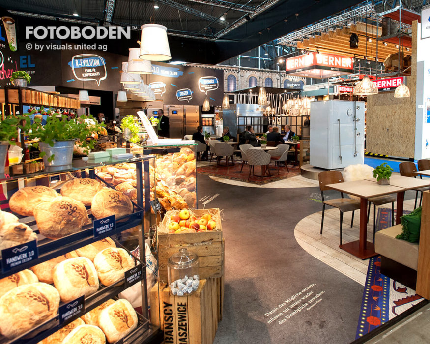 FOTOBODEN™ Designboden Raumgestaltung Gastronomie