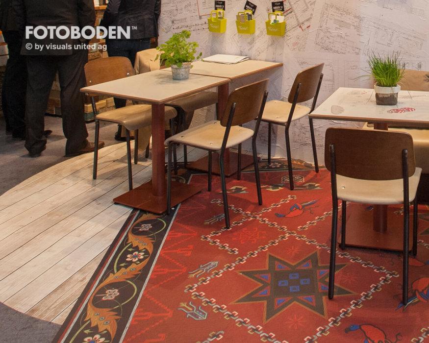 FOTOBODEN™ Messeboden Elastische Bodenbeläge