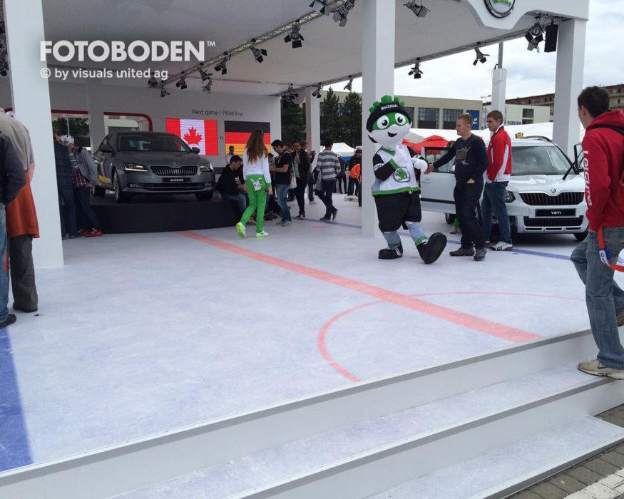 Designfußboden FOTOBODEN™ eishockey flooring