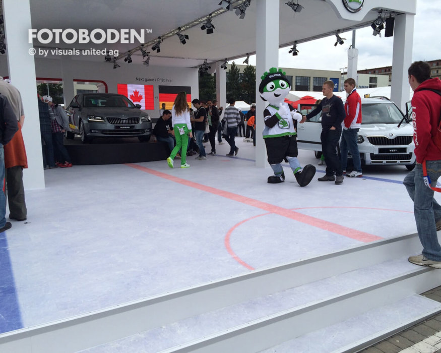 Eishockey World Championship Flooring