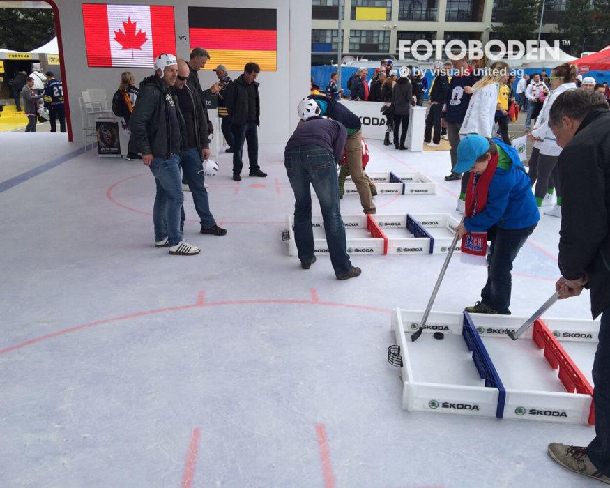 FOTOBODEN™ Objektboden Event eishockey