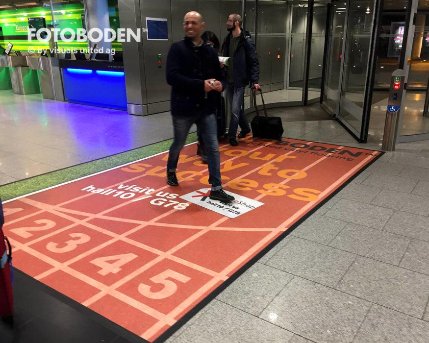 FOTOBODEN™ Flooring Teppich Selbst Gestalten