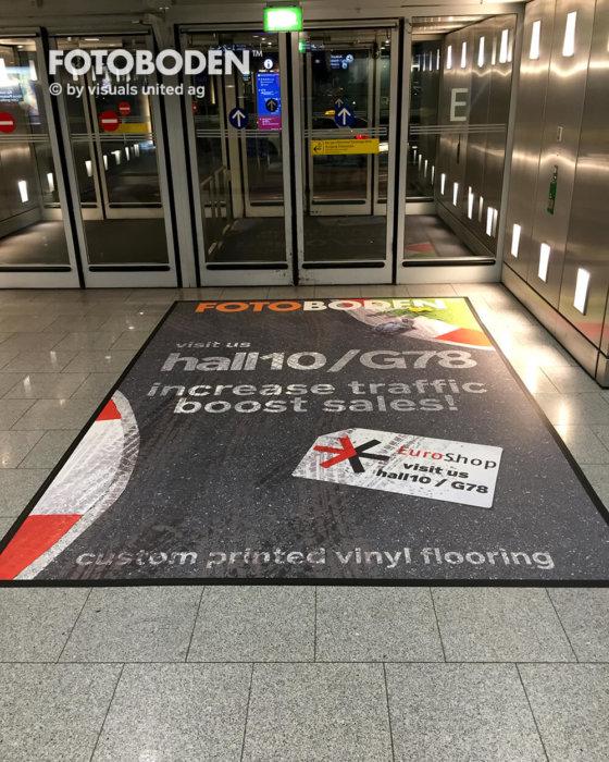 FOTOBODEN™ Flooring Bodenwerbung Fußmatte
