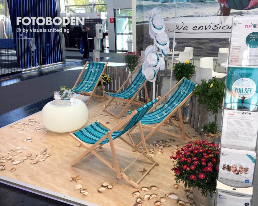 FOTOBODEN™ Messeboden Ausstellungsdesign