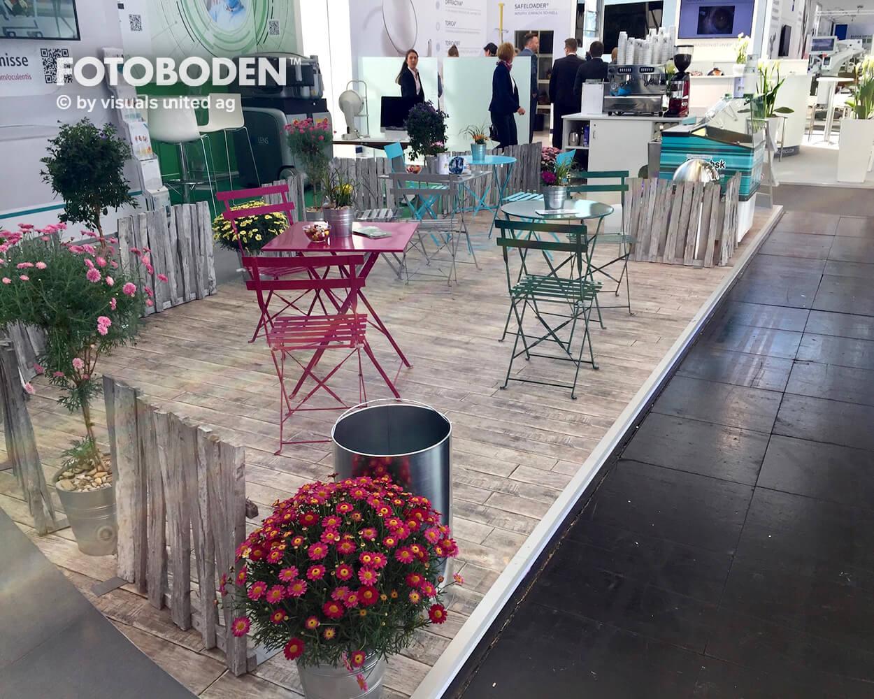 Oculentis4Fotoboden Messeboden Tradeshow Flooring Bodengestaltung Messe Bodendesign Messedesign Design Boden Messegestaltung