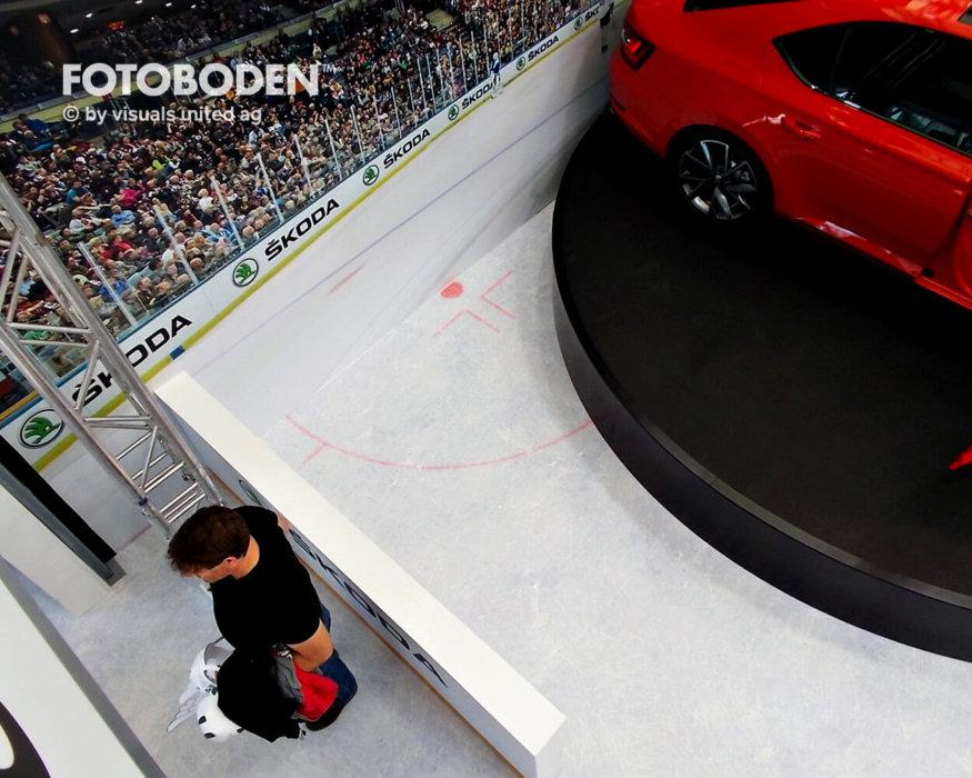 Fotoboden Auto Ausstellungsdesign Stadion