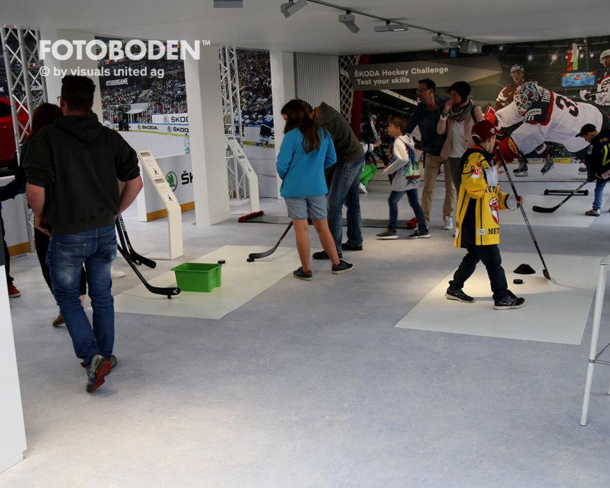 Eishockey Indoor Kinderspielplatz Vinyl