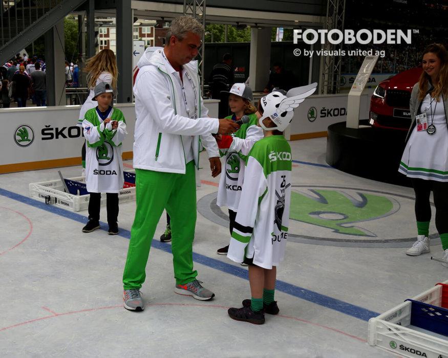 Eishockey Fotoboden Vinylboden Indoor Kinderspielplatz