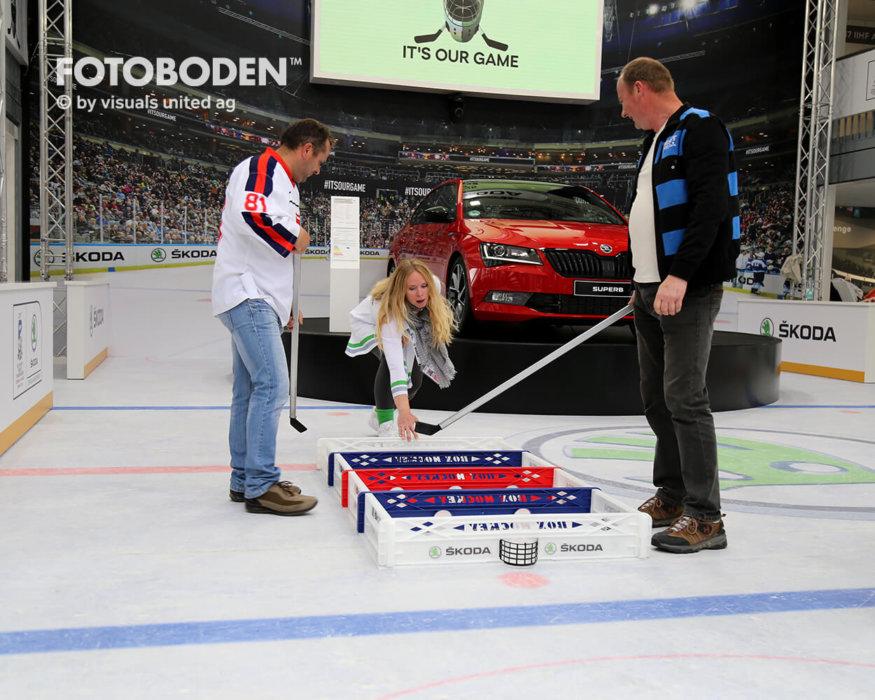 Eishockey Fotoboden Vinylboden Sport