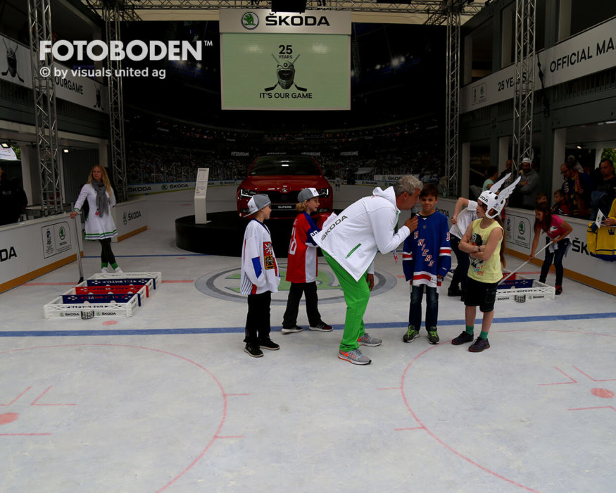 Eishockey Fotoboden Bodenbelag Vinylbelag