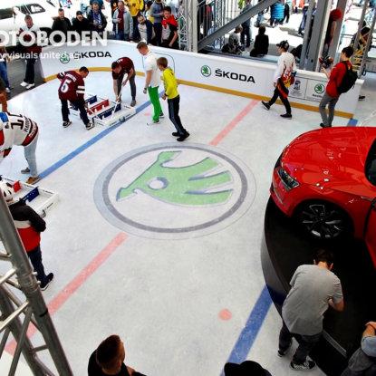 Eishockey FOTOBODEN™ Industriebodenbeläge PVC Vinyl