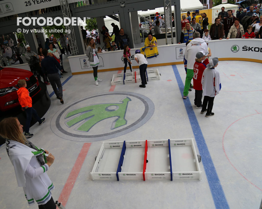 Eishockey Fotoboden Indoor Kinderspielplatz