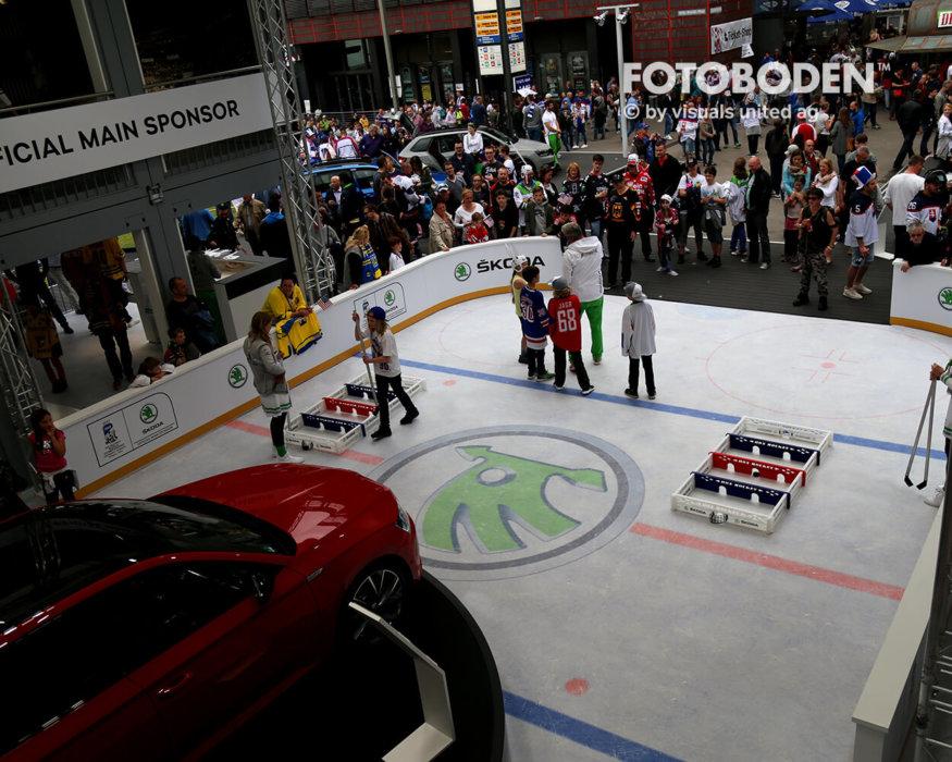 Eishockey Objektboden Fotoboden Vinylboden