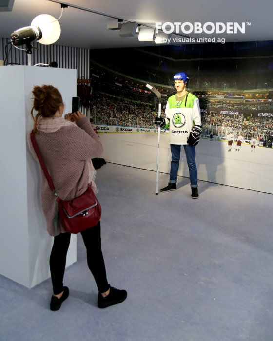 Bodenbeläge Vinyl Venylboden Eishockey