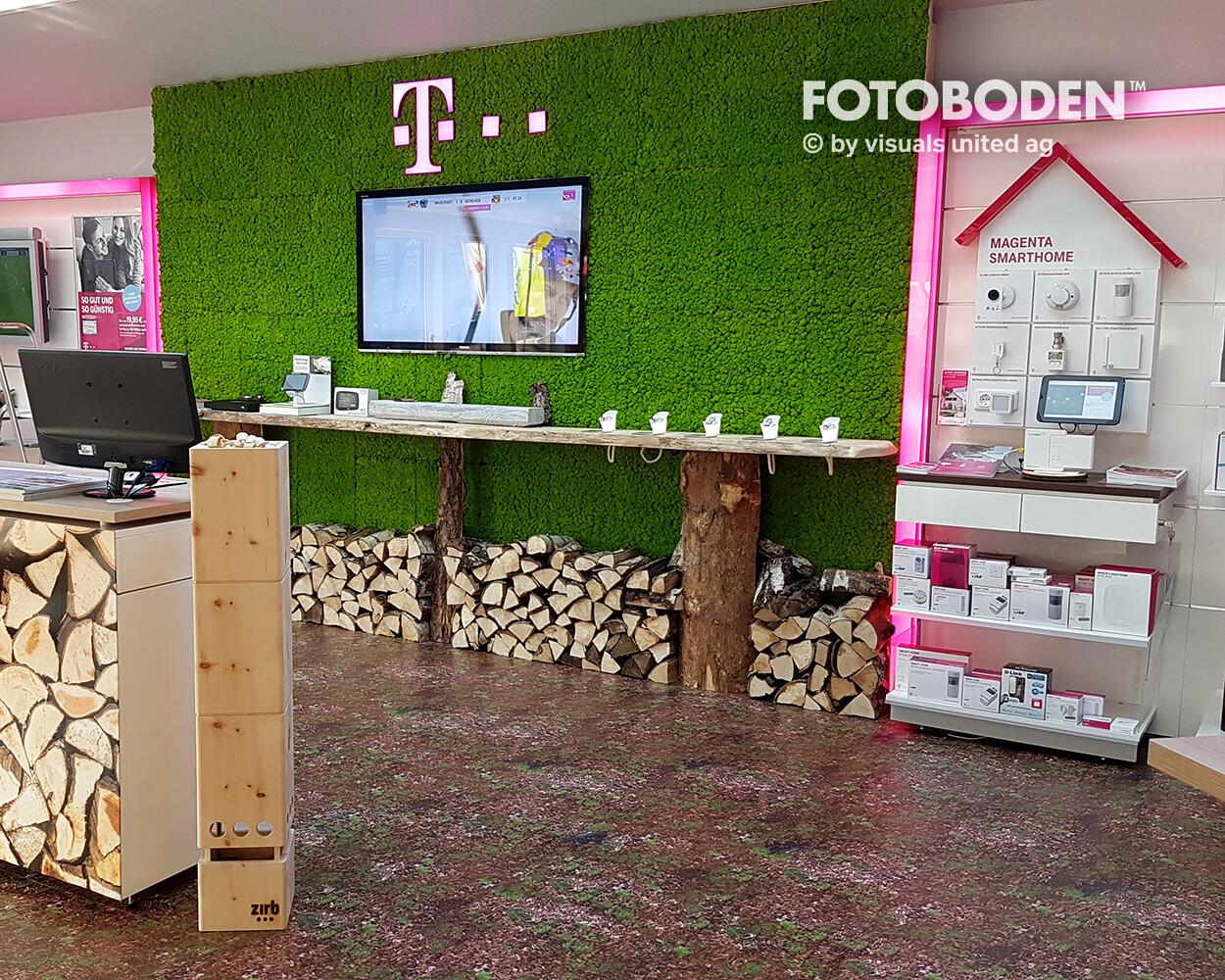 Ladenbau Verkaufsfläche Bodengestaltung Objektdesign