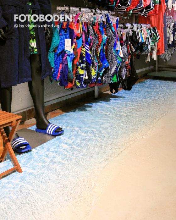 Ladenbau Ladengestaltung Fußboden Verkaufsfläche