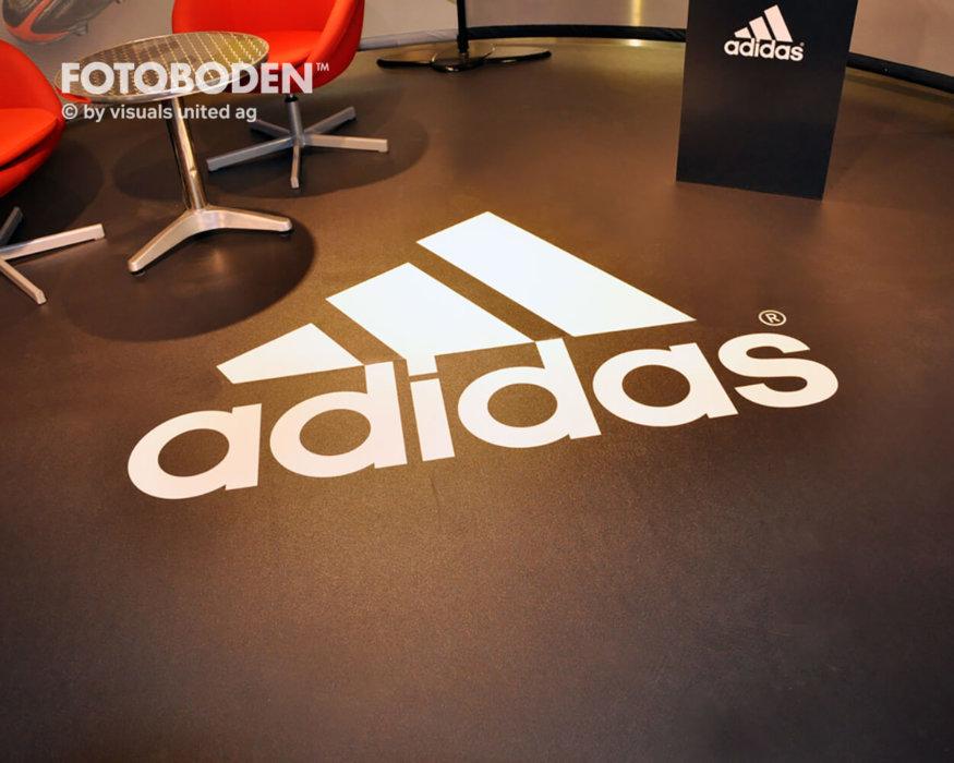 Ladenbau Werbung Fußboden Teppich Mit Logo