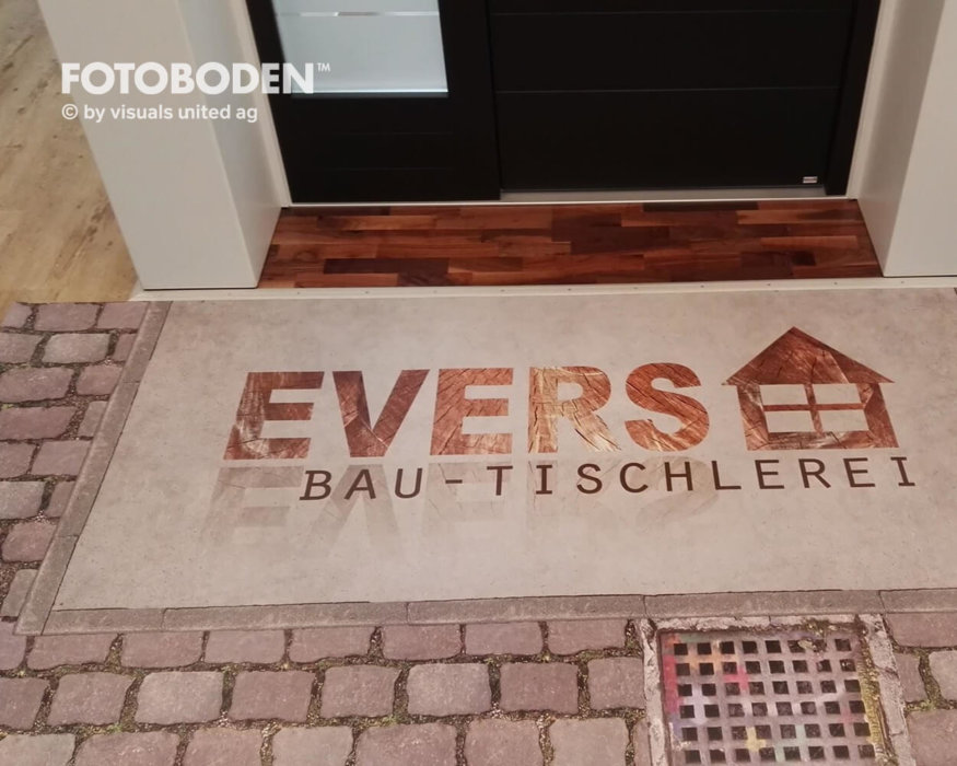 FOTOBODEN™ Flooring Bodendisplay Kundenstopper