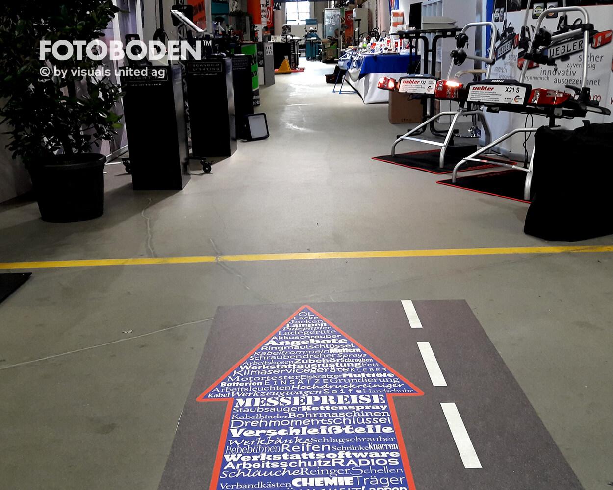 Lauenburg2 Fotoboden Messeboden Tradeshow Flooring Bodengestaltung Messe Bodendesign Messedesign Design Boden Messegestaltung