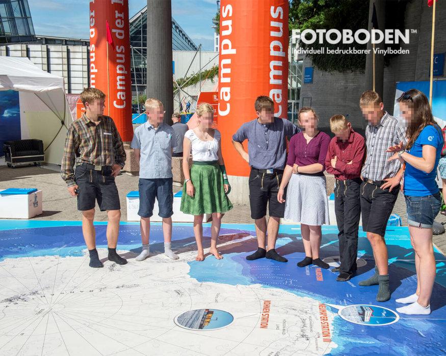 Ausstellungsboden FOTOBODEN™ Vinylboden Flooring