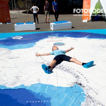 Antarktiskarte Vinylboden Stralsund Outdoor Kinderspielplatz