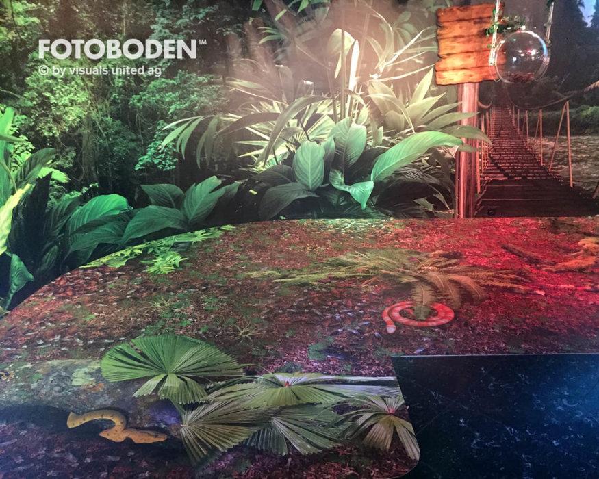 Ausstellungsboden Motivboden Museum
