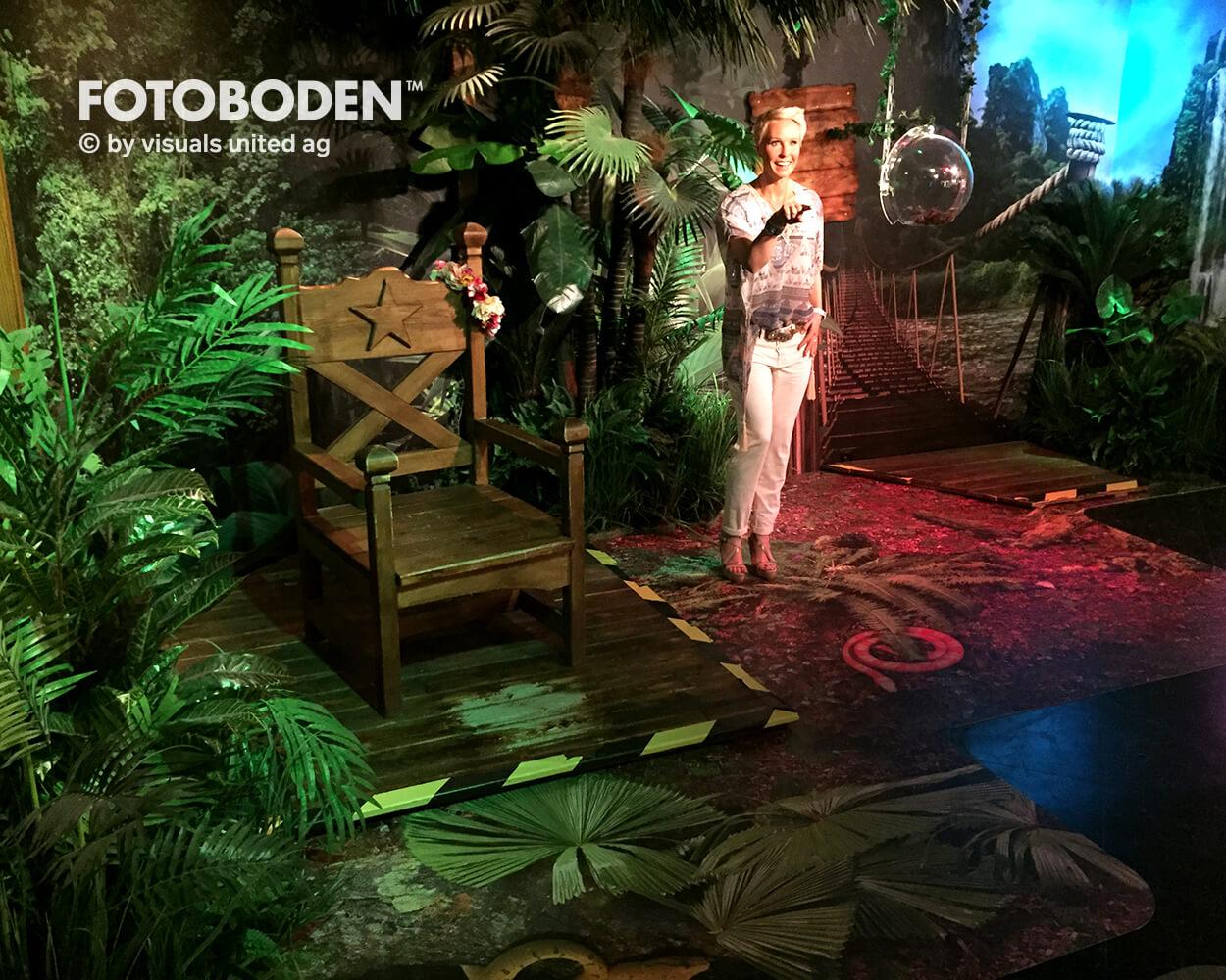 Madame Tussauds3 Ausstellung Museum  Raumkonzept Stimmung Museumsboden Ausstellungsboden Fotoboden Vinylboden Flooring Individuell Event