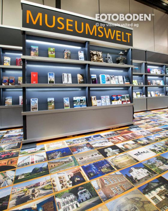FOTOBODEN™ Messeboden Museumsboden Vinyl