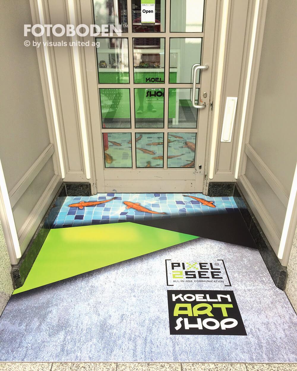 Ladenbau Ladengestaltung Fußboden