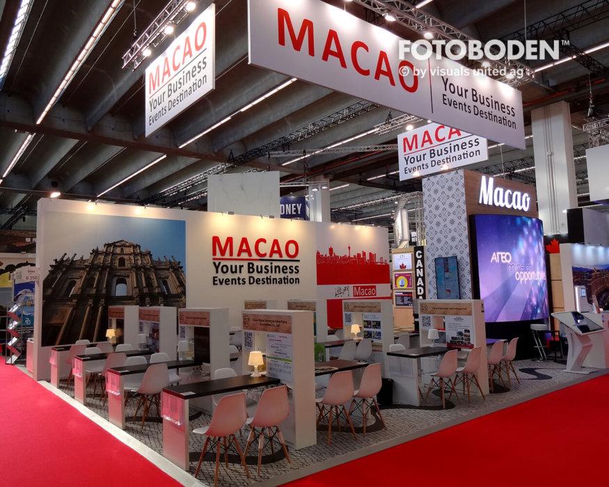 FOTOBODEN™ Messeboden Eventteppich Eventmarketing