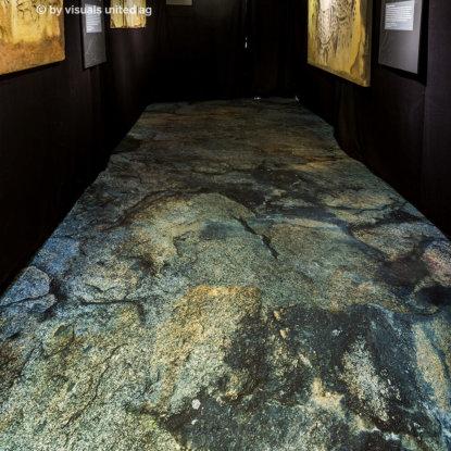 Museum Ausstellungsboden Fotoboden