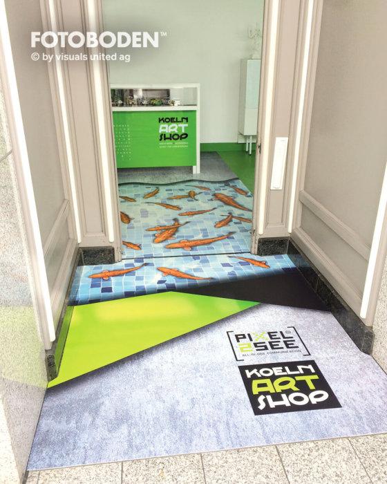 Ladengestaltung Fußboden Bodengestaltung Objektdesign