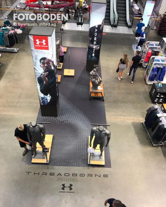 FOTOBODEN™ Ladenbau Ladengestaltung Fußboden