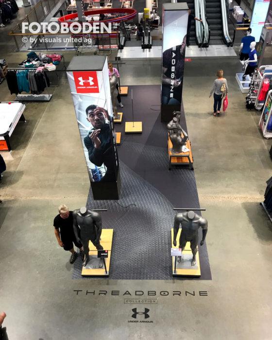 FOTOBODEN™ Flooring Fußbodenwerbung
