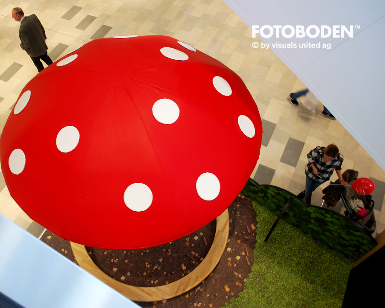 FOTOBODEN™ Flooring Messedesign