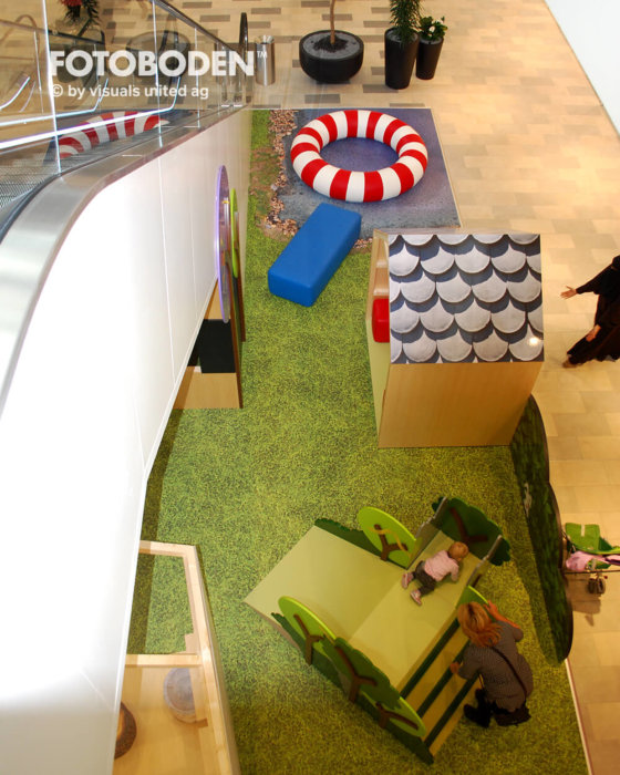 Fotoboden Flooring Indoor Kinderspielplatz
