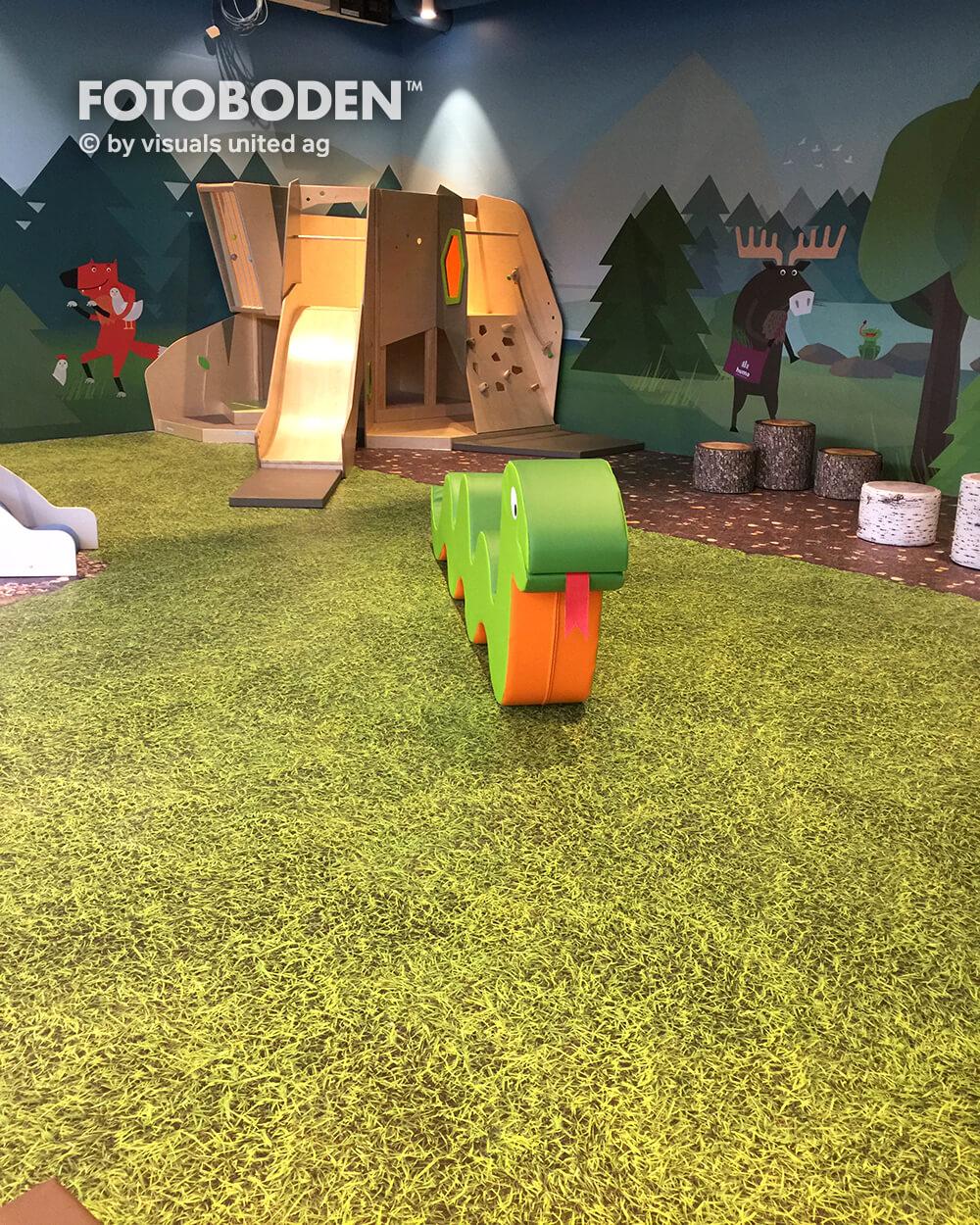 Indoor Kinderspielplatz FOTOBODEN™ Flooring