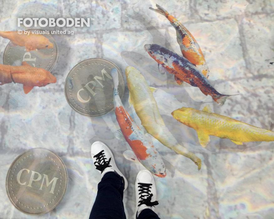 FOTOBODEN™ Messeboden 3D Boden