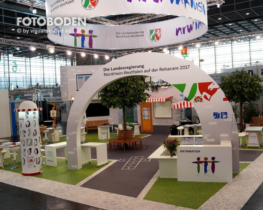 FOTOBODEN™ Tradeshow Flooring Bodengestaltung