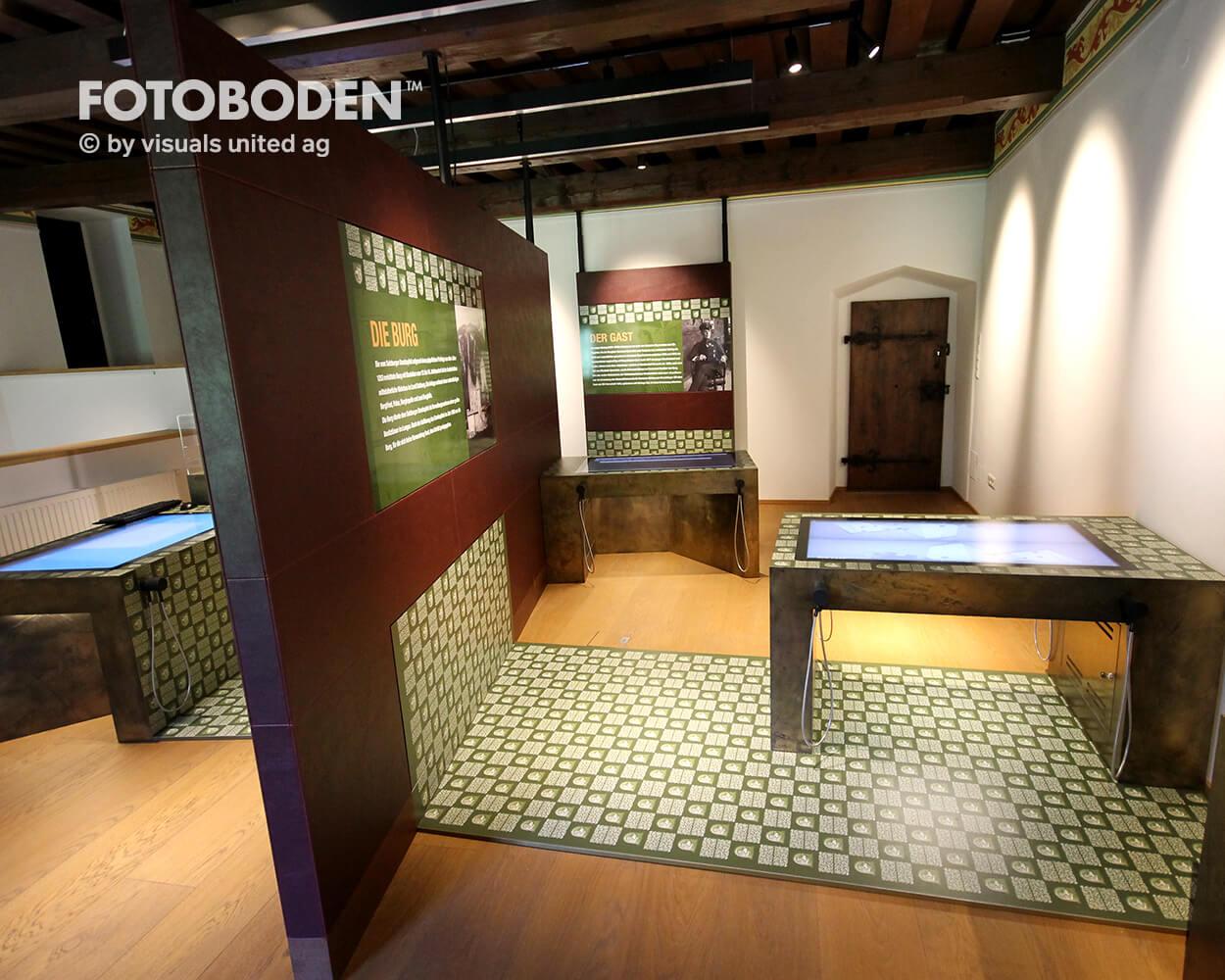 fotoboden™ - individuell bedruckbarer vinylboden, Wohnzimmer