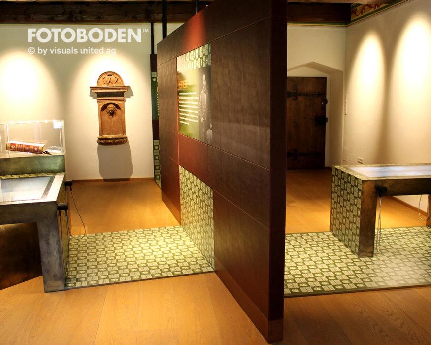 Museumsboden Ausstellung Raumgestaltung