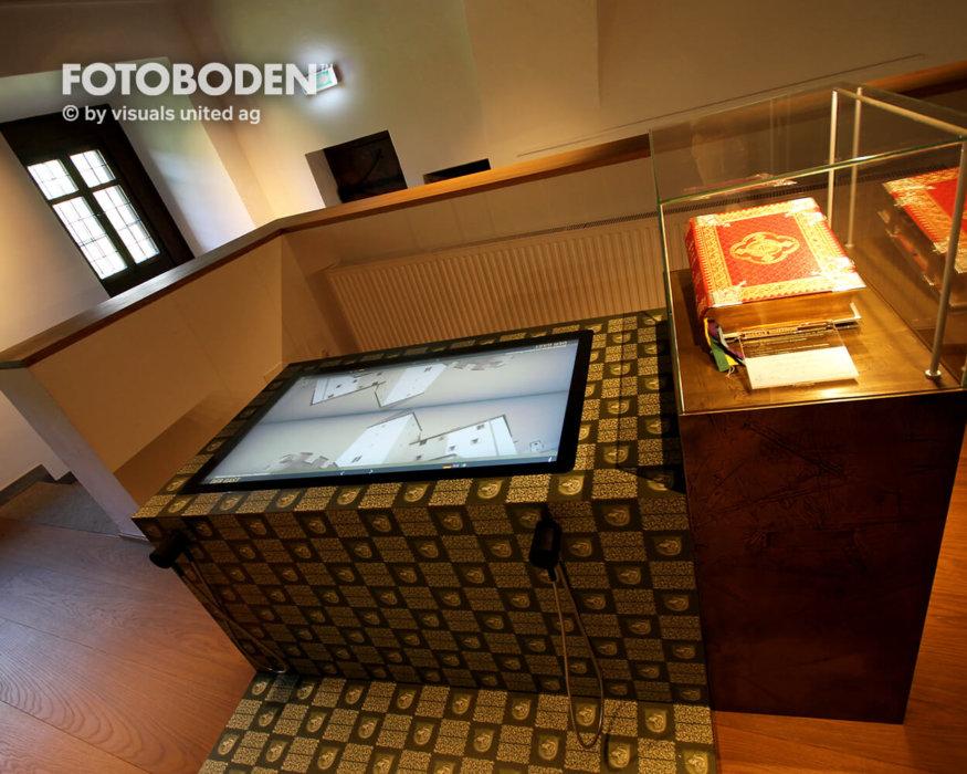 Museum Ausstellungsboden Vinyl