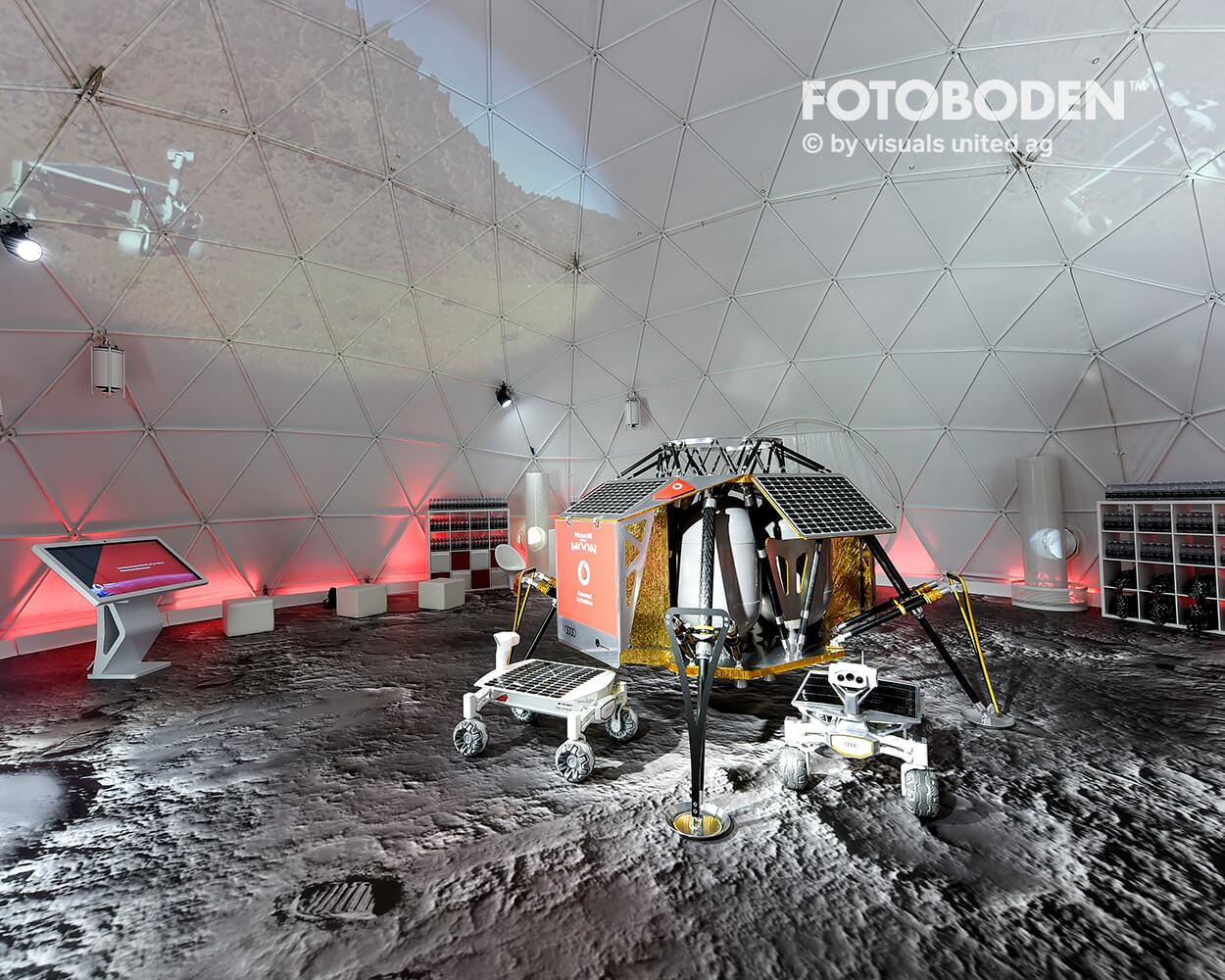 Schießen Sie Ihre Besucher Zum Mond