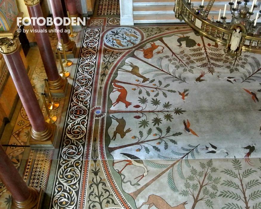 Fotoboden Bodengestaltung Objektdesign