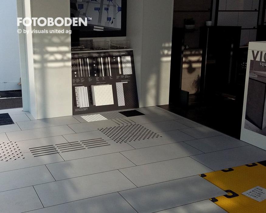 FOTOBODEN™ Messeboden Bodengestaltung