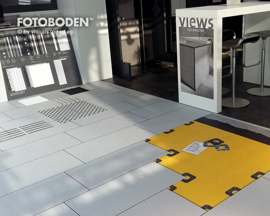 FOTOBODEN™ Messeboden Flooring