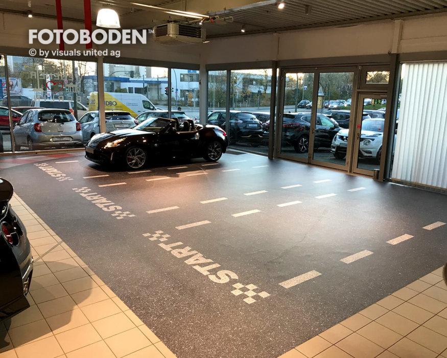 FOTOBODEN™ Flooring Autohaus Designboden