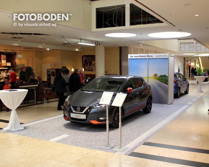 FOTOBODEN™ Flooring Autohaus Einkaufszentrum